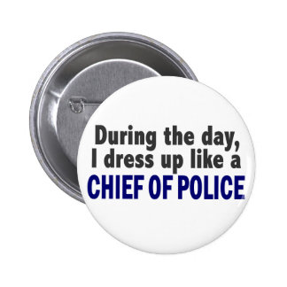 Chief Of Police During The Day Button