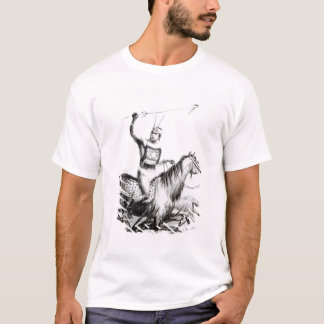 Chief of the Charruas, engraved by C. Motte T-Shirt