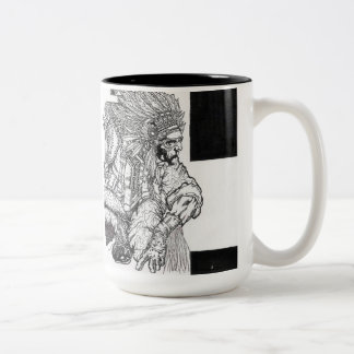 """Chief Of Your Own Conscience"" Two-Tone Coffee Mug"