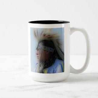 'Chief Overlooking' Two-Tone Coffee Mug