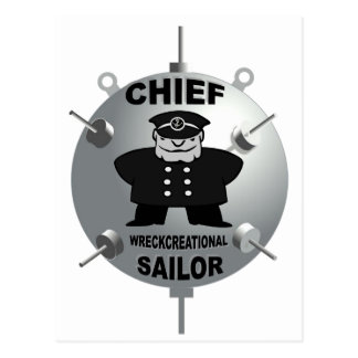 CHIEF PETTY OFFICER POSTCARD