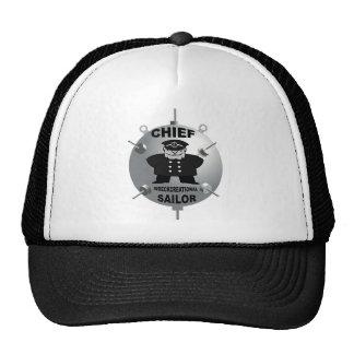 CHIEF PETTY OFFICER TRUCKER HAT