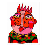 'chief red cheeks' postcards