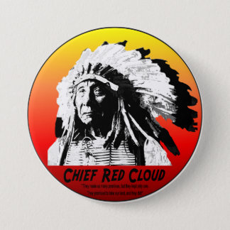 Chief Red Cloud Button