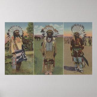 Chief Red Cloud, Chief Dewey Beard Poster
