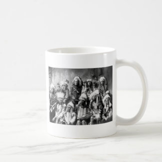 Chief Red Cloud & Other Chiefs, 1899 Coffee Mug