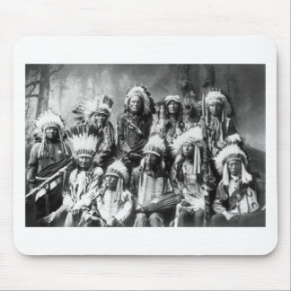 Chief Red Cloud & Other Chiefs, 1899 Mouse Pad