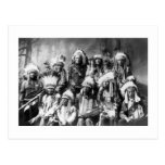 Chief Red Cloud & Other Chiefs, 1899 Post Card