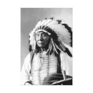 Chief Red Cloud Wrapped Canvas Gallery Wrapped Canvas
