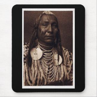 Chief Red Wing - Tatankamani - Walking Buffalo Mouse Pad