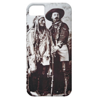 Chief Sitting Bull (1831-90) on tour with Buffalo iPhone SE/5/5s Case