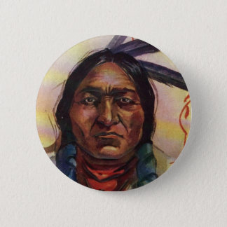 Chief Sitting Bull Button