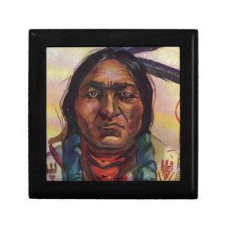 Chief Sitting Bull Jewelry Box