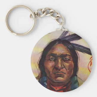 Chief Sitting Bull Keychain