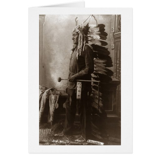 Chief Sitting Bull - Vintage Cards