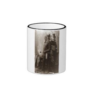 Chief Sitting Bull - Vintage Coffee Mugs