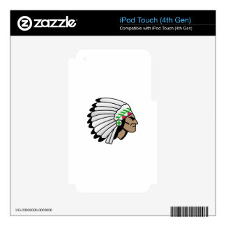 Chief Skin For iPod Touch 4G