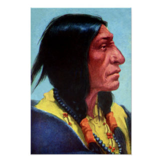 Chief Spotted Tail Brule Lakota Tribal Chief Posters