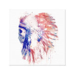 Chief Stretched Canvas Prints