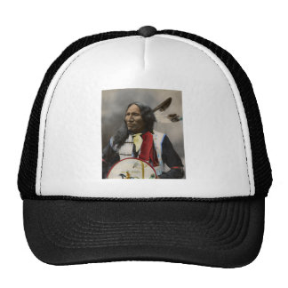 Chief Strikes With Nose, Oglala Sioux  1899 Trucker Hat