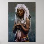Chief Two Guns White Calf Glacier National Park Print
