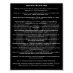Chief Warrant Officer Creed Poster