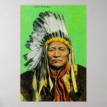 Chief Washakie Portrait Print