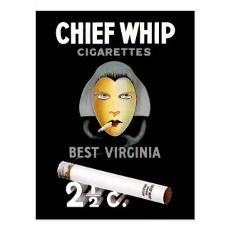 Chief Whip Cigarettes Postcards