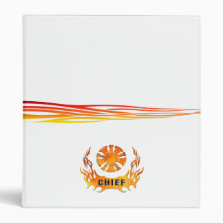 Chief's Flames 3 Ring Binder
