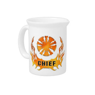 Chief's Flames Beverage Pitcher