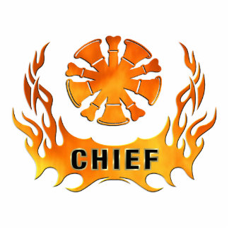 Chief's Flames Cutout