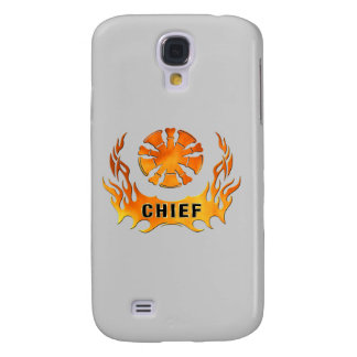Chief's Flames Galaxy S4 Cover