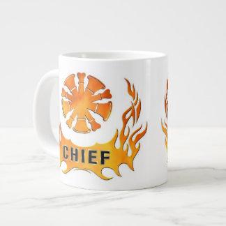 Chief's Flames Giant Coffee Mug