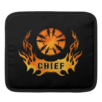 Chiefs Flames iPad Sleeves