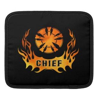 Chiefs Flames iPad Sleeves