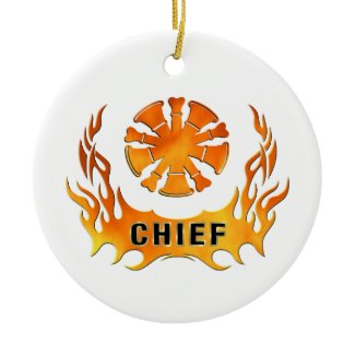 Chief's Flames ornament