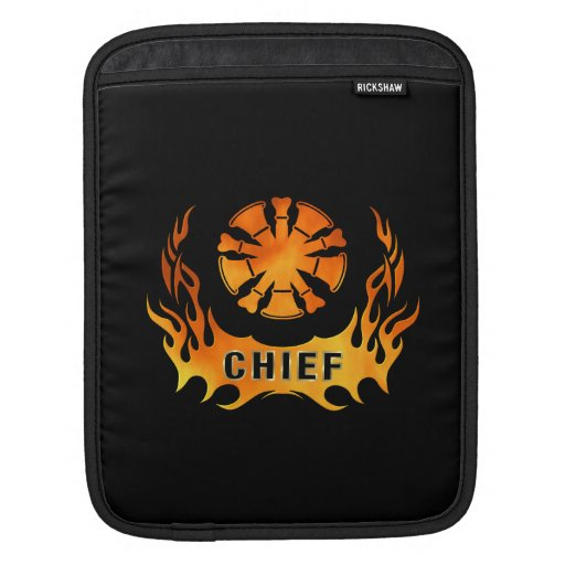 Chief's Flames Sleeve For iPads