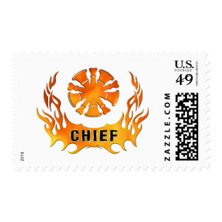 Chief's Flames Stamp