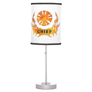 Chiefs Flames Table Lamp