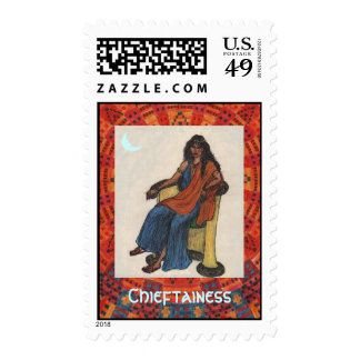 Chieftainess Postage Stamps