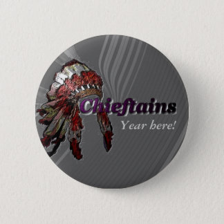 Chieftains on Gray Button