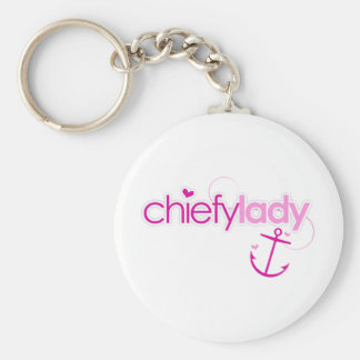 Chiefy Lady Keychain
