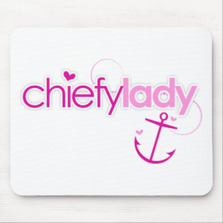 Chiefy Lady Mouse Pad