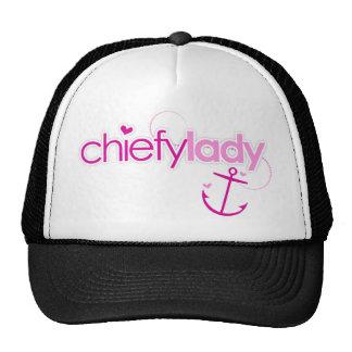 Chiefy Lady Trucker Hat