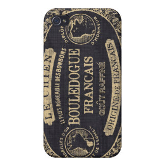 Chien Bon Bon Covers For iPhone 4