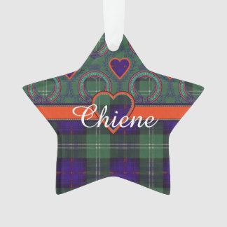 Chiene clan Plaid Scottish kilt tartan Ornament