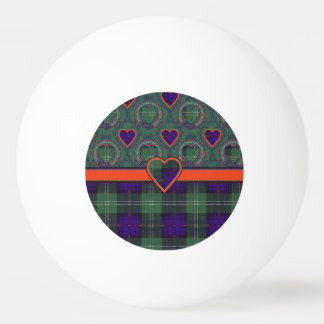 Chiene clan Plaid Scottish kilt tartan Ping Pong Ball