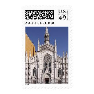 Chiesa del Sacro Cuore del Suffragio, Rome, Stamp
