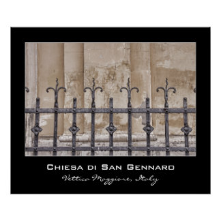 Chiesa di San Gennaro, Praiano, Amalfi Coast Poster