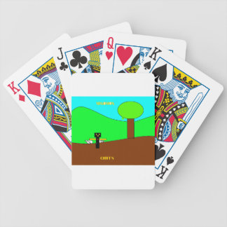 chif with migo.png bicycle poker cards